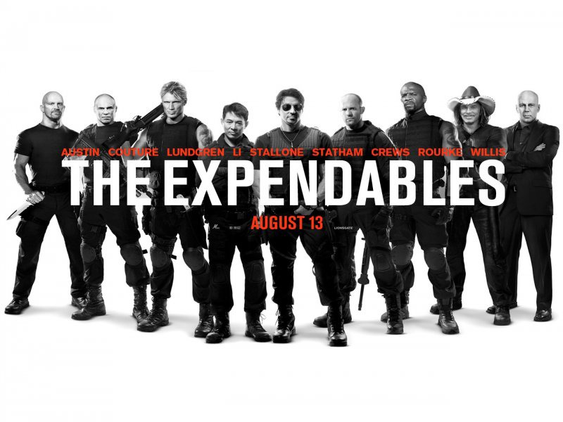 Russia's Top Films - August 2010 - The Expendables