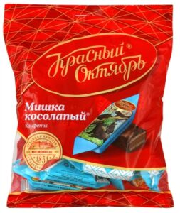 Russian Brands Krasnyi Oktyabr Chocolate