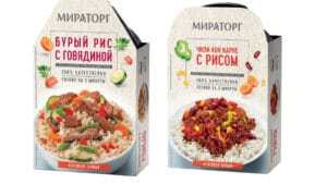 Russian Brands Miratorg Prepared Meals Meat