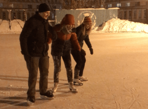 Ice Skating in Irkutsk