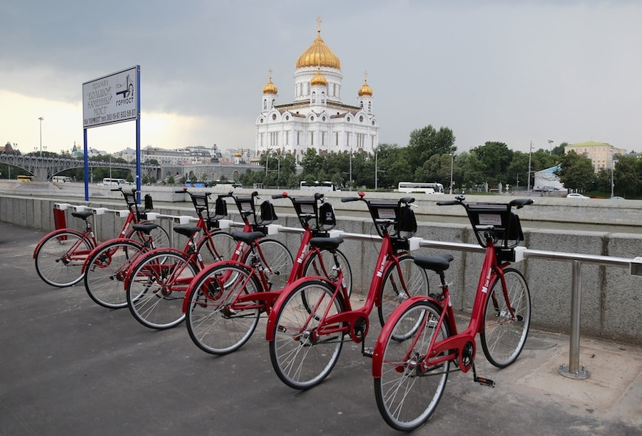 Renting Bicyles in Moscow